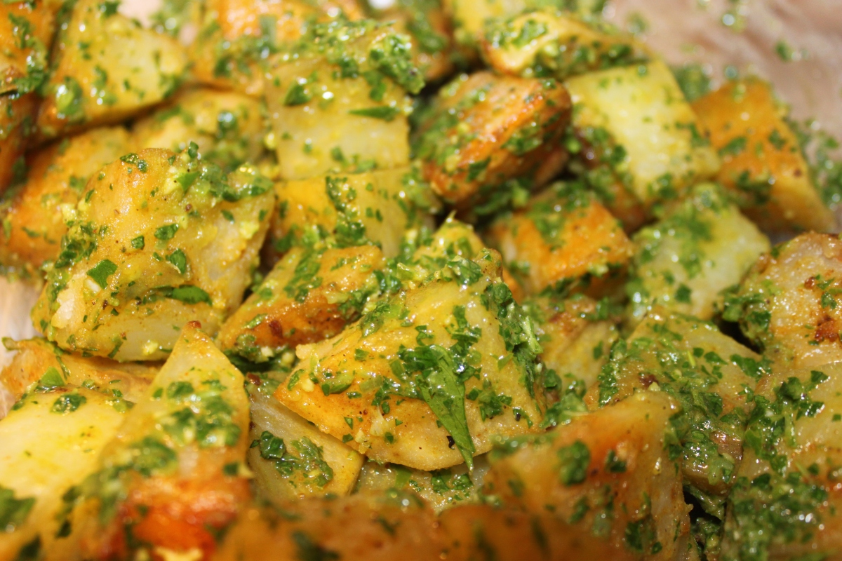 Roasted Potato Salad with Fresh Herbs | Our West Coast Lifestyle